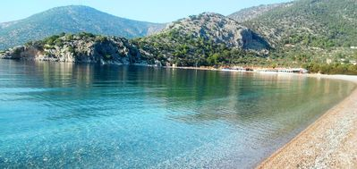 Photo for Beachfront Studios In An Unspoilt Bay Only 1h Drive From Athens(Psatha - Attica)