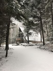 Photo for Beautifully Updated Vintage A-Frame--Steps from Hunter Mountain
