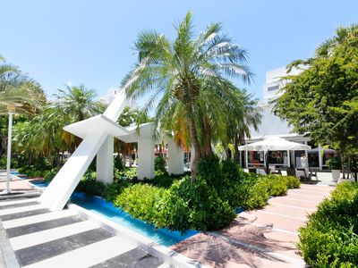 Photo for NEW LISTING! Shining South Beach studio, short walk to the beach- 600 ft.