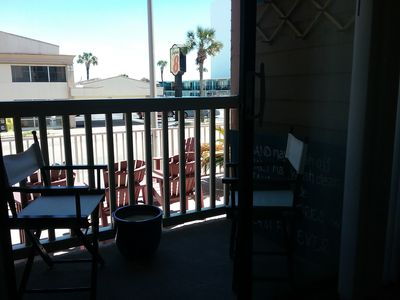 Photo for Great Location on S Ocean Blvd, just steps from the beach.