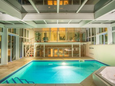 Photo for Sandbanks Peninsula Stunning Modern Luxury House - Heated Pool & Hot Tub