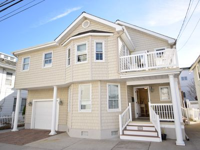This home is magnificent. Steps to the beach and promenade. Located in the downtown area.