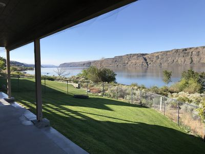 Photo for Gorge Waterfront Home 2 bed 1 bath with RV Parking