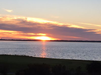 Photo for A Chance For Total Relaxation, Beautiful Sunsets, Beach, Pool, & Golf Access!