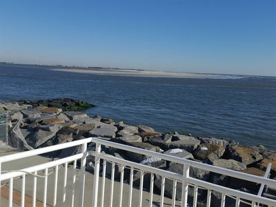 Photo for OCEAN VIEWS!!! 2BR and 1BA Condo...Enjoy the Ocean Views Right From The Deck!!