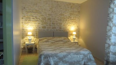 Photo for Large studio 3 * for 2 (+ baby) in the countryside in charming property