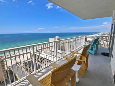 Crystal Tower 1809 -You Can Help an Empty Beach Chair this Spring Break by Reserving Your Vacation Now!