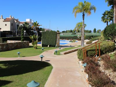 Photo for Luxury 2 bed Apt Roda Golf. Car available  Free wifi