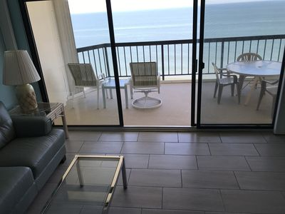 Photo for RENOVATED DIRECT OCEANFRONT CONDO, AMAZING VIEWS OF OCEAN AND BAY, NEW FURNITURE