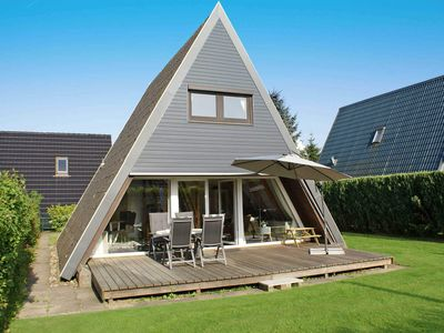 Photo for Tent roof house with W-LAN - only 5 minutes to the beach - Tent roof house with W-LAN - Parking in front of the house