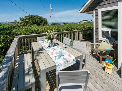 Photo for Affordable Family-friendly Ocean View home, 1 blk to beach, near Cannon Beach
