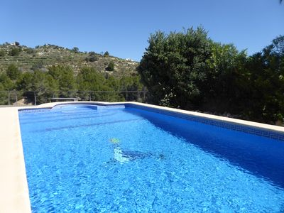 Photo for Beautiful Finca on 12,000m² of land for 4-10 people with private heated swimming pool