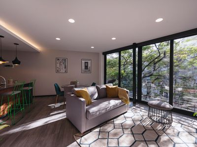 Photo for Sunny and modern home in cool Condesa