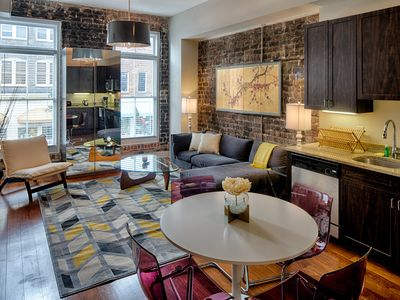 Photo for Stylish magazine-featured condo for two in the heart of historic Savannah!