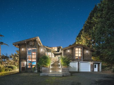 Photo for 4800 Sq Ft of Pure Luxury, Ocean View, Private near Cannon Beach, 2 King beds