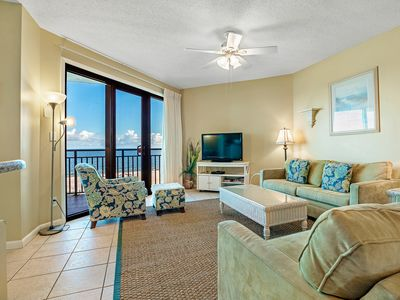 Photo for 402W - Spectacular Gulf Front Views in this 3BR Condo!