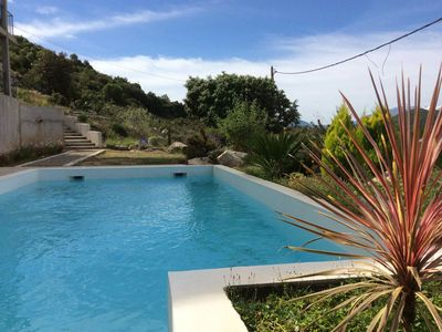 Photo for Character residence (2012) 4 appt, swimming pool between sea and mountain