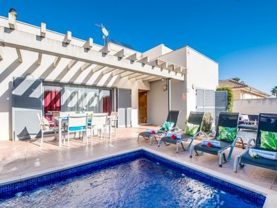 Photo for Port d'Alcudia Villa, Sleeps 5 with Pool, Air Con and WiFi