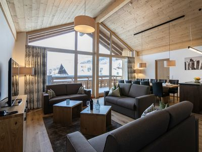 Photo for Luxury 8-10-person penthouse in the holiday park Landal Resort Maria Alm - in the mountains/rolling countryside