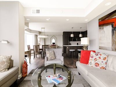 Photo for RATE DROP! - Clean and Sanitized - Experience Toronto from a Chic Condo in Yorkv