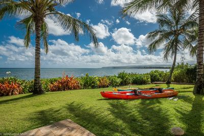 Kayaks, Stand Up Paddle Boards, Surf Boards, Snorkel Gear and Bikes are optional