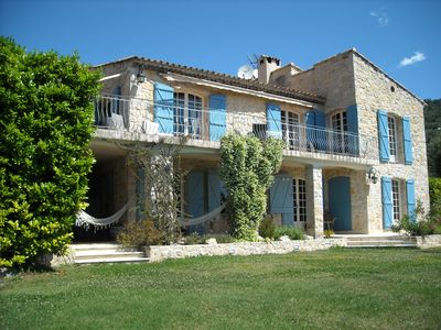 Photo for Stunning French Villa with incredible Sea View and Heated Infinity Swimming pool