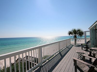 Photo for The Beach House, Gulf Front Property, steps from Alys Beach!