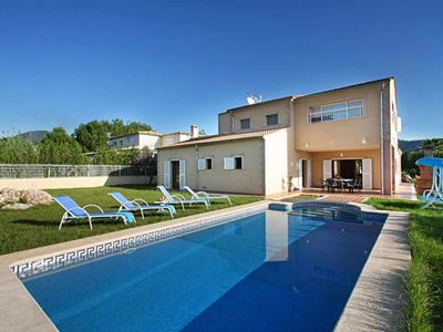 Photo for Modern villa for 8 people with pool and jacuzzi 15 km from the sea