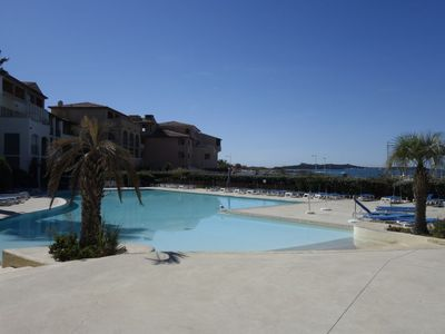 Photo for Curet Apartment, Sleeps 4 with Pool and WiFi