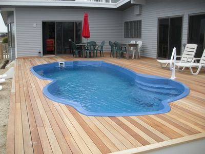 Photo for Waterfront-H'cap and Pet Friendly-Sleeps 12-htd pool- By Owner