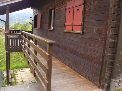 Photo for House in the center of Grindelwald with Parking, Terrace (44597)