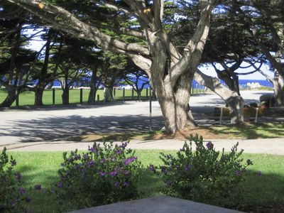 View from front patio toward Monterey Bay