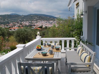 Photo for ENASTRON GUESTHOUSE,  WONDERFUL GARDEN AND VIEW,  5 MIN WALK FROM PORT - BEACH