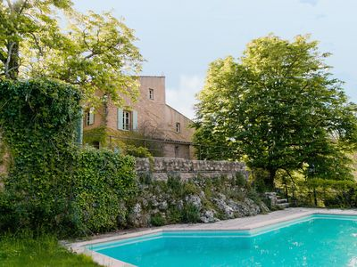 Photo for Villa Terrubi / Beautiful authentic bastide nestled in the vineyards