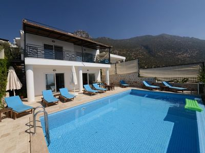 Photo for Villa Deniz Manzarali is a great seven bedroom six bathroom villa perfect for groups of friends and