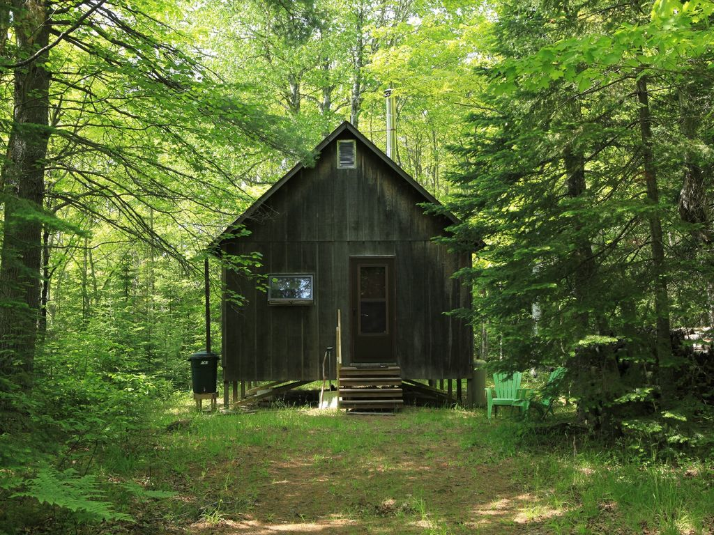 Keweenaw Rustic Cabin On The Gratiot River Homeaway