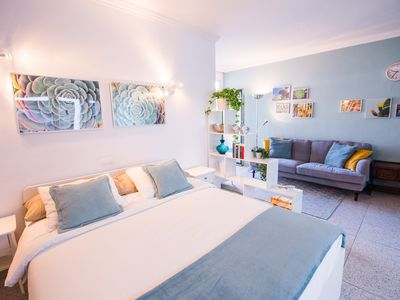Photo for Cozy studio with balcony at Plaza del Charco. Free Wi-Fi