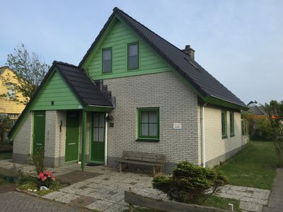 Photo for Lovely cottage with spacious sun garden, located close to the beach and quiet