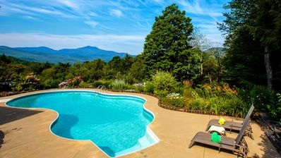 """We spent most of our time at the pool."" Avail. late May - early Sept.; unheated"