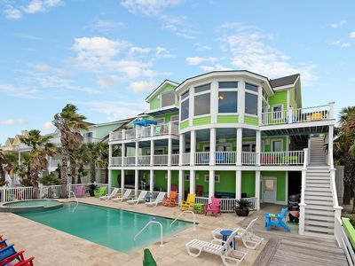 Photo for Casa Margarita  - Oceanfront, 10 Bds. FALL SAVINGS! BOOK 4 NIGHTS = GET 3 FREE!