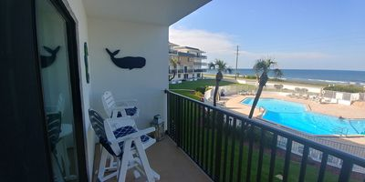 Photo for Beachfront 2BR Condo: Sea Oats on Flagler-GREAT OCEAN VIEWS-Recently Renovated!