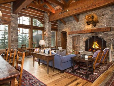 Photo for One of a Kind ski-in/ski out property!   7 Bedroom Exquisite Granite Ridge Retreat