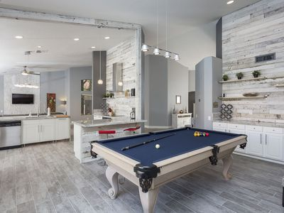 Photo for Private Pool. Miniature Gold Course. Desert Modern. Pool Table. Perfect for Large Families.