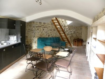 Photo for Holiday cottage in a small town character in Ardèche.