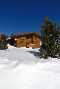 Photo for Wood house 1800m above sea level, south facing location, year-round destination