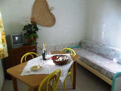 Photo for Apartment Dependance in Capo Vaticano - 6 persons, 2 bedrooms