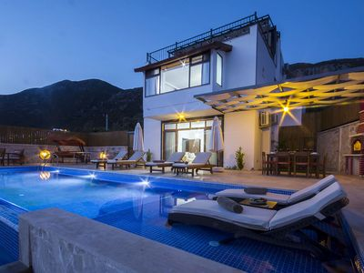 Photo for 3 Bedroom Villa with Secluded Pool and Beautiful Sea Views