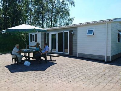 Photo for Cozy chalet with large terrace, near Baarle-Nassau