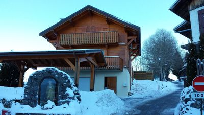 Photo for chalet near the slopes with mountain and lake view - WiFi