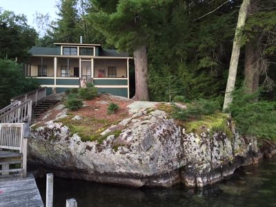 Photo for LOU26Wcf - Lake Winnipesaukee Much-Loved Cottage